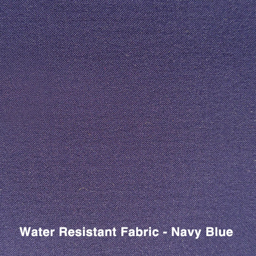 Navy Blue Water Resistant Fabric