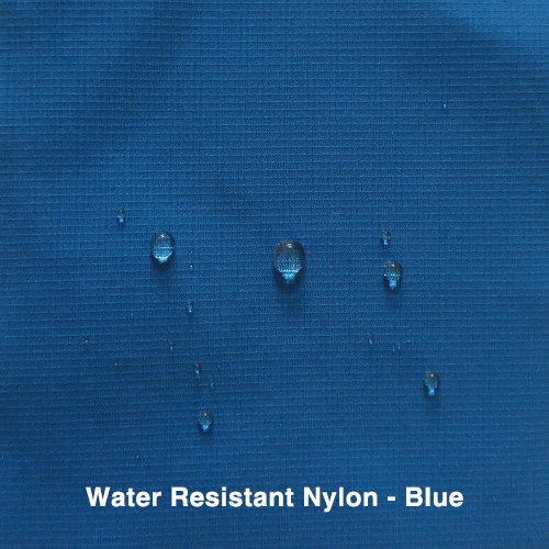 Blue Water Resistant Nylon