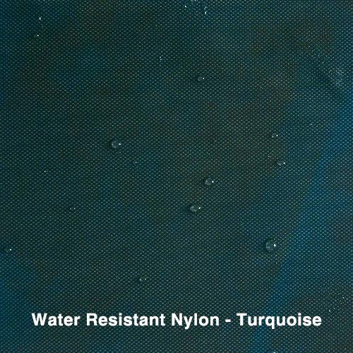Turquoise Water Resistant Nylon