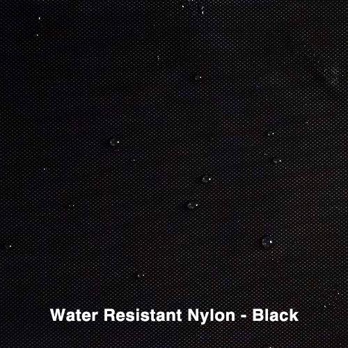 Black Water Resistant Nylon