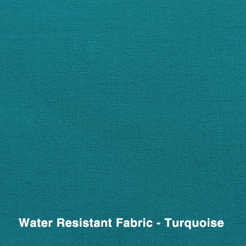 Water Resistant Fabric - Turquoise