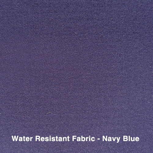 Dark Blue Water Resistant Fabric