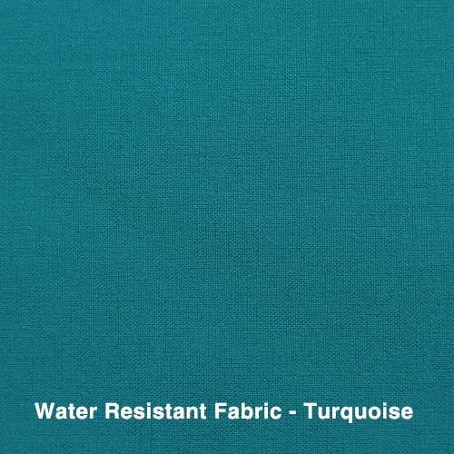 Turquoise Water Resistant Fabric