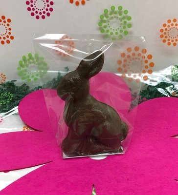 F - Solid Sitting Bunny .66 lbs