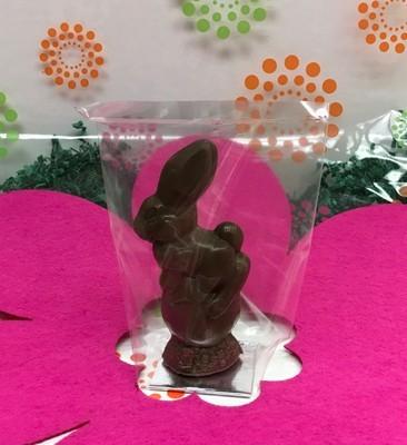 F - Solid Bunny on Egg .16 lbs