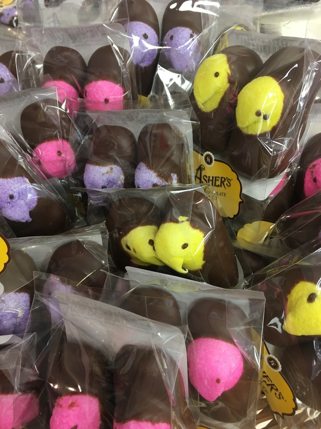 F - Chocolate Covered Peeps