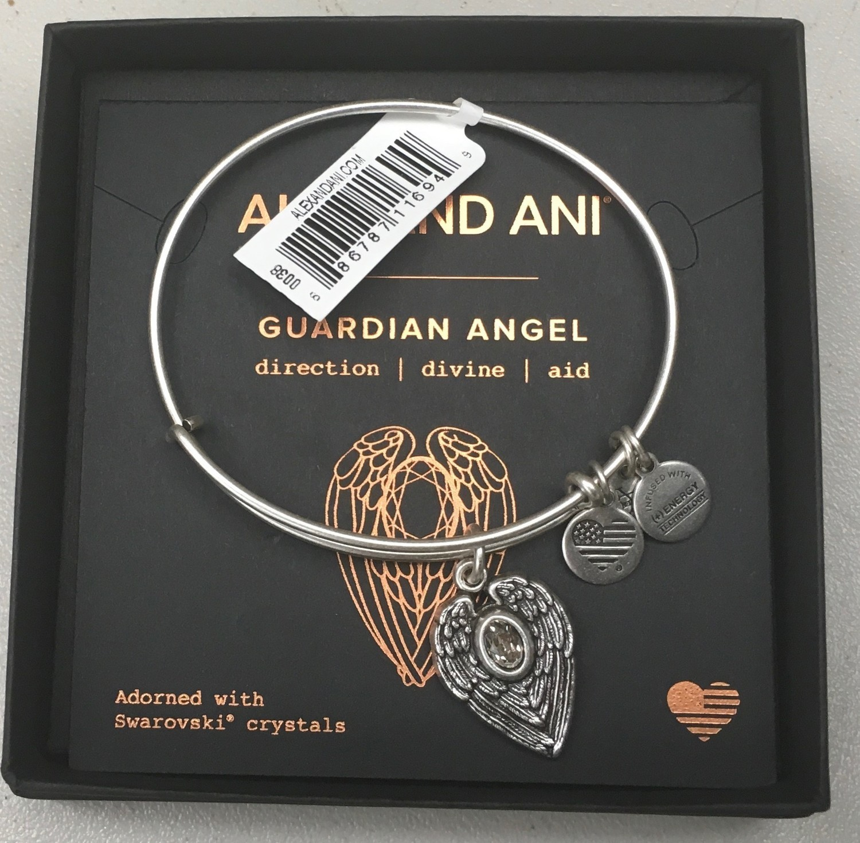 Guardian Alex and Ani Bangle Bracelet (silver only)