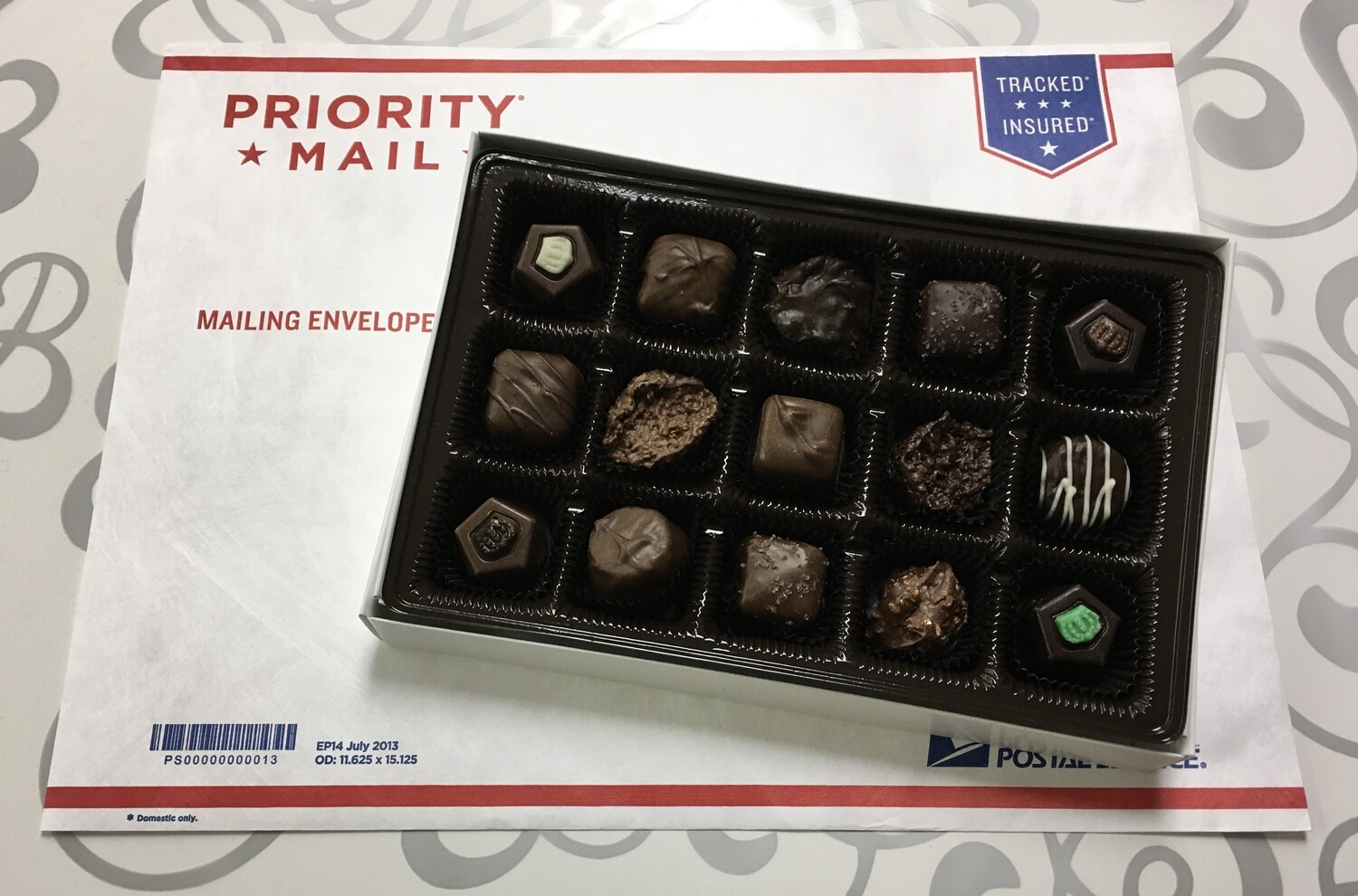 An Assortment of some of our favorite Chocolates.  Show someone you Care, Reward your Clients, Wish Someone Get Well, Say Congratulations. Any Occassion Chocolates!  FREE SHIPPING & FREE GIFTWRAP