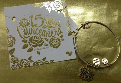 Quinceanera Bangle Bracelet
