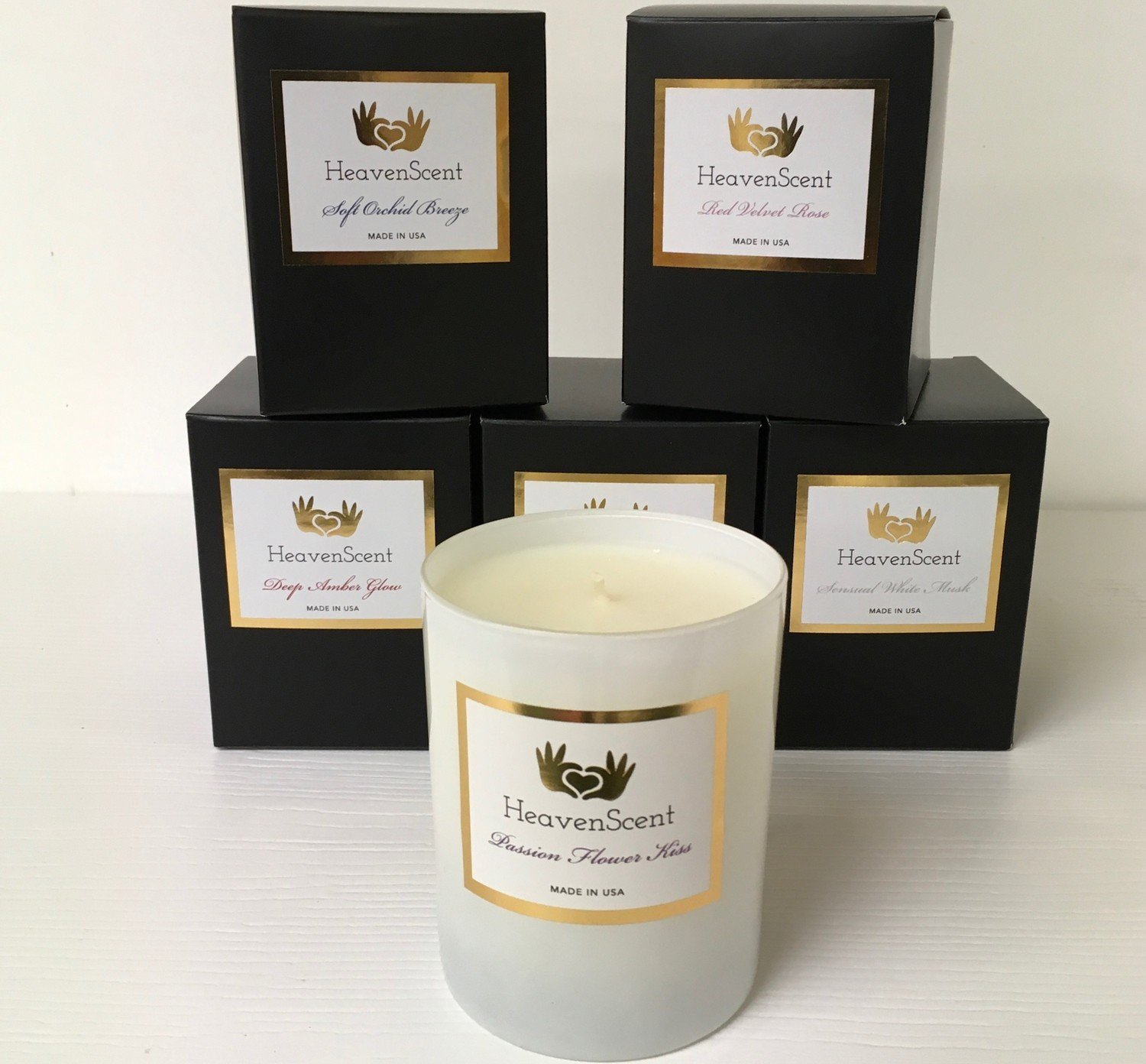 Large 12 Ounce Heaven Scent Candle.  Choose Fragrance