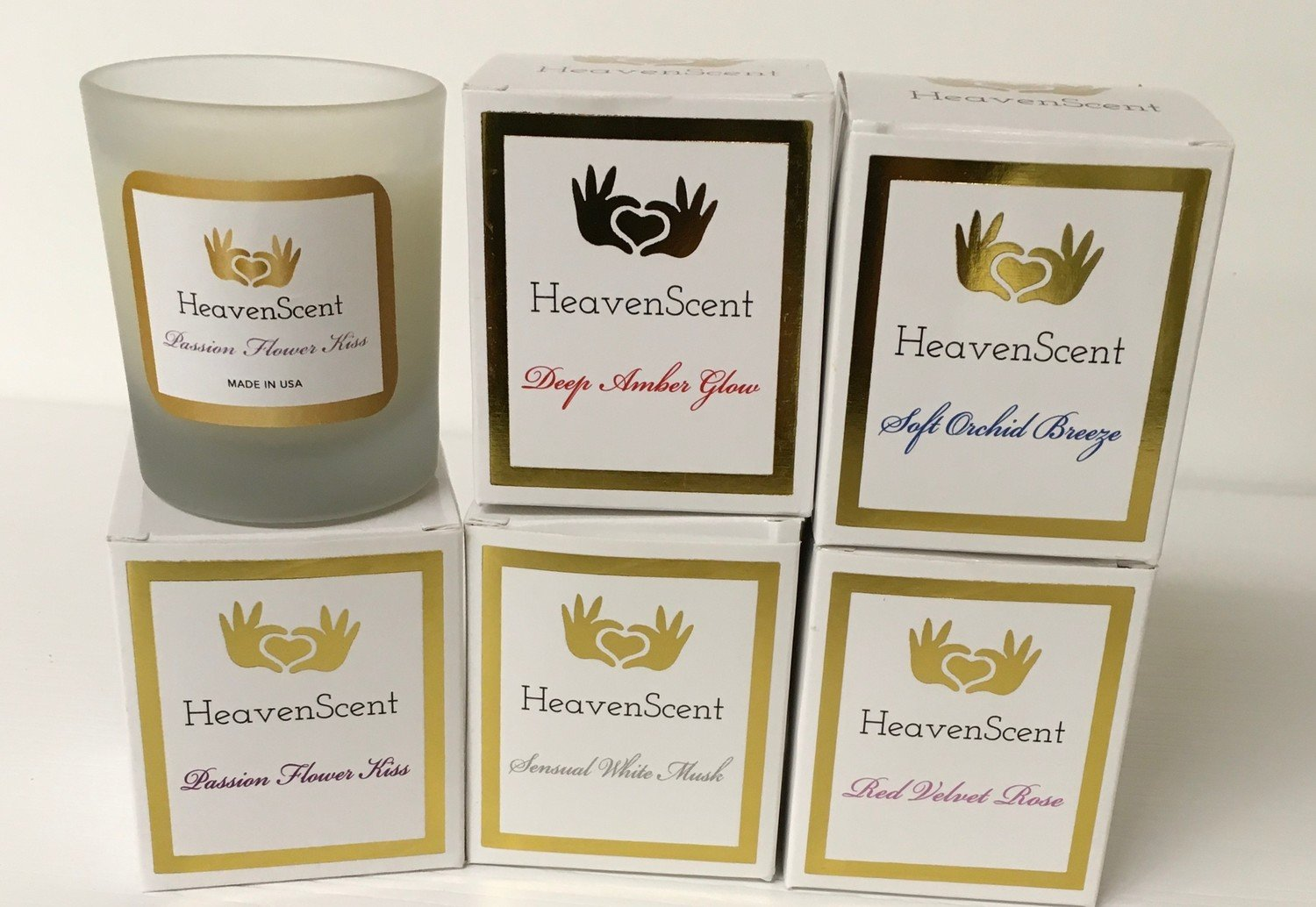"3 Ounce ""Heaven Scent"" Candle.  Choose your fragrance."