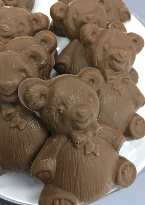 F - Chocolate Teddy Bears. Milk Chocolate Only. 3