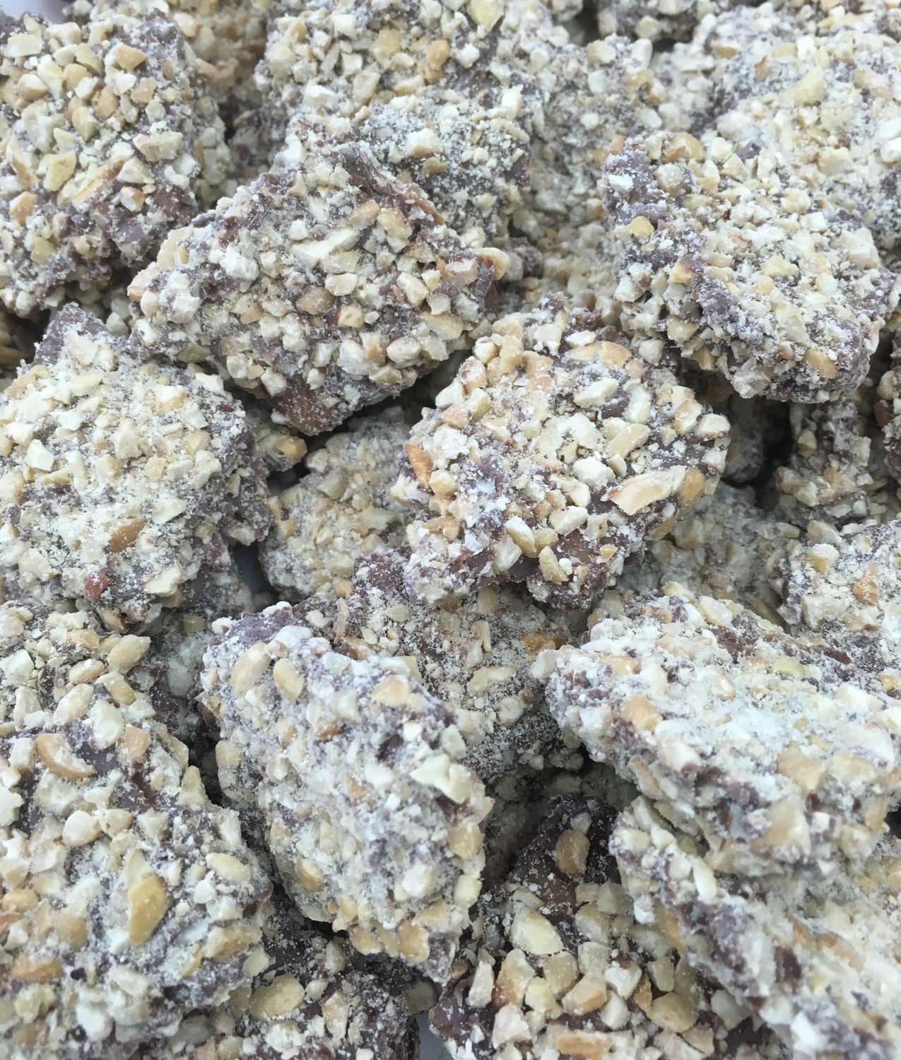 Cashew Buttercrunch.