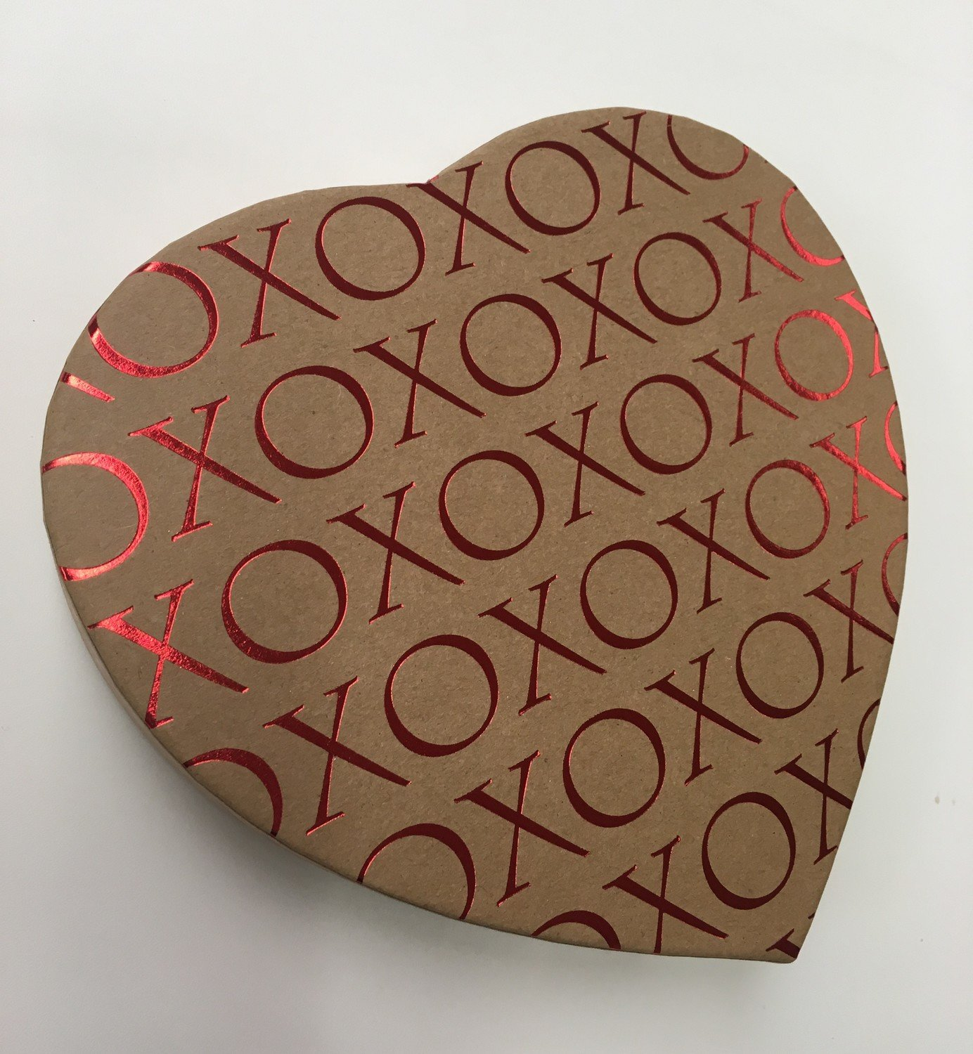 .54 Lbs Assorted Chocolates in XOXO Box.  Shipping Included