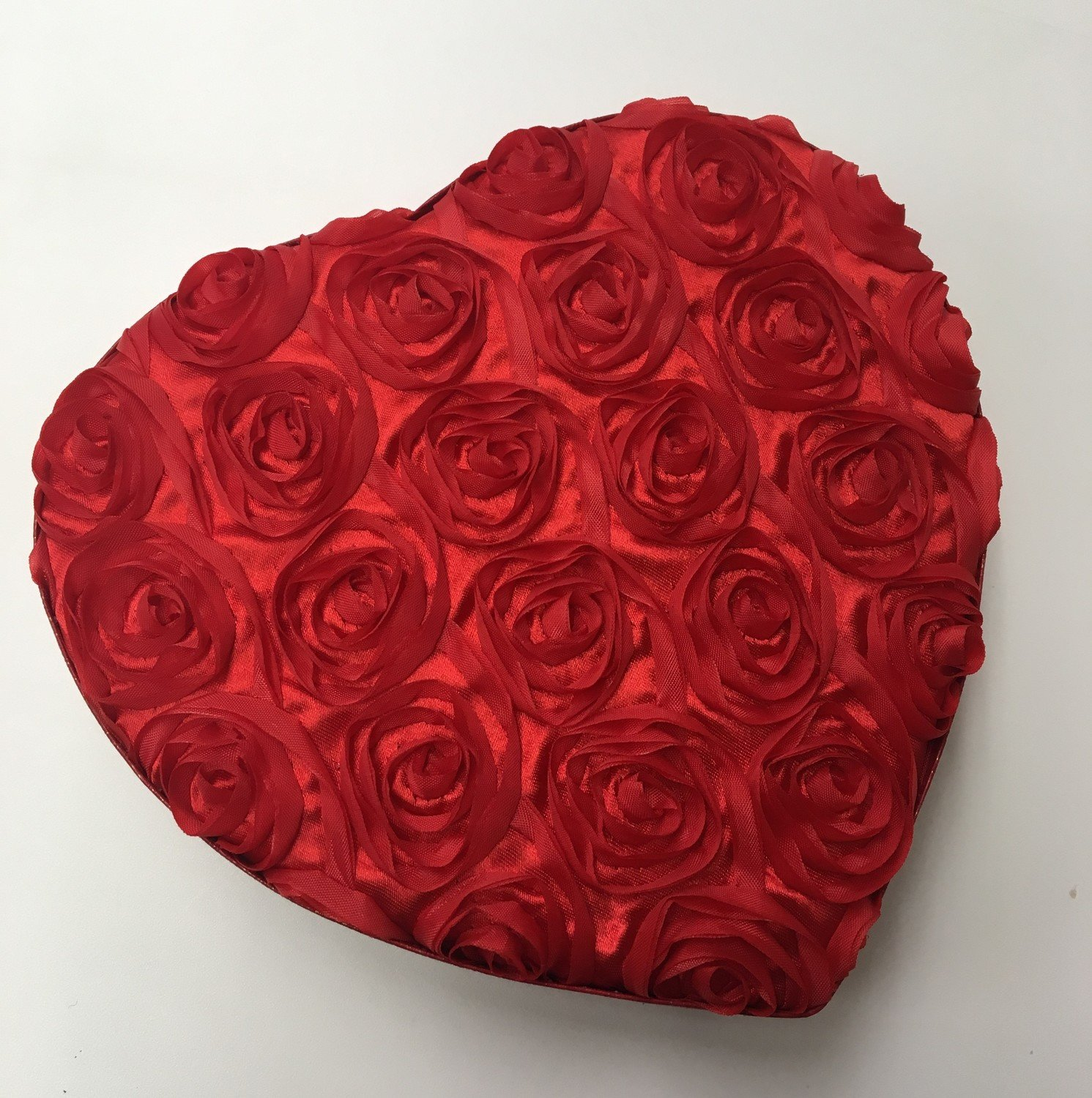 Beautiful 1/2 or 1 Pound Rose Valentine Box of Assorted Chocolates.  Shipping Included