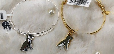 Crystal Dog Alex and Ani Bangle Bracelet