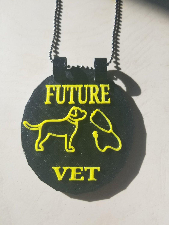 Future Vet medallion