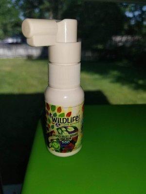 Nano CBD Pet Spray. CBD relief, peppermint breath!