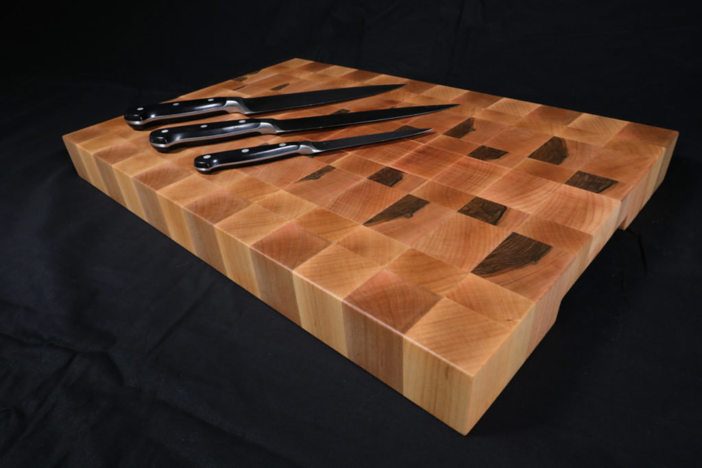 Maple End Grain Cutting Board 00001