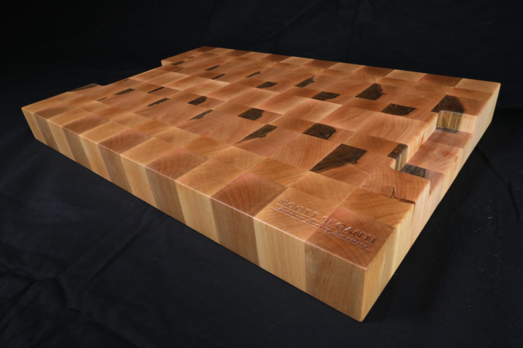 Maple End Grain Cutting Board