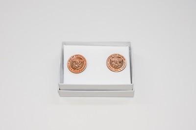 Copper State Seal Cufflinks