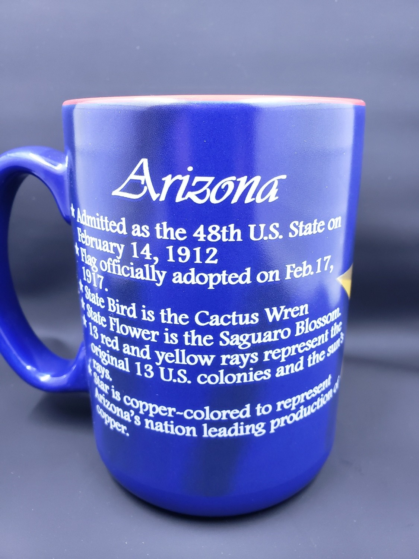 Arizona Flag History Mug
