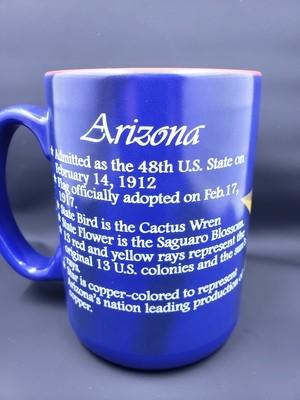 16oz. AZ Flag History Mug