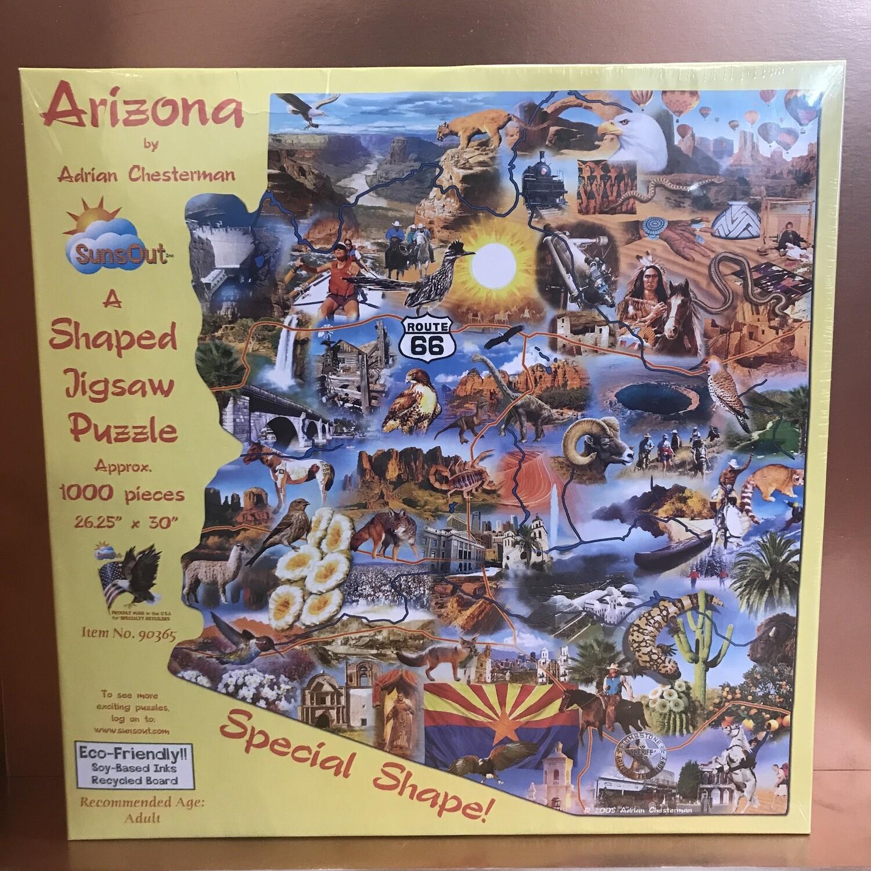 Arizona Shape 1000pc Puzzle