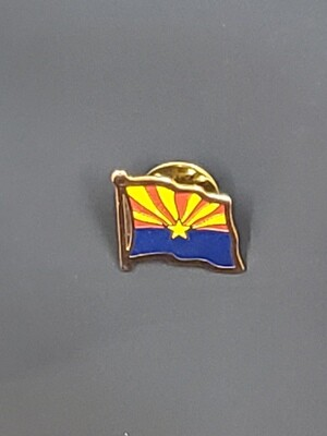 Arizona Flag Lapel Pin