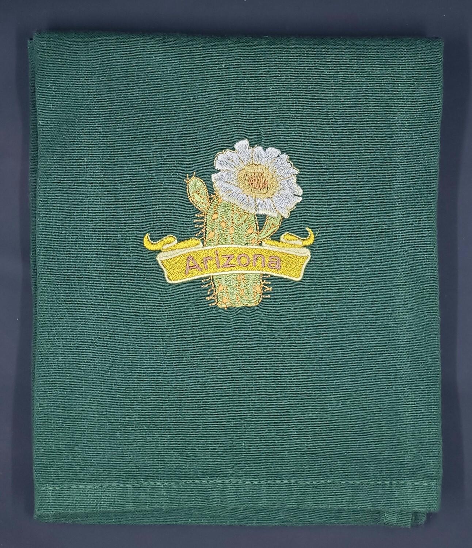 Arizona Saguaro Cactus Towel