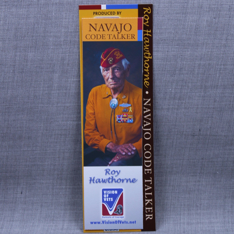 Navajo Code Talker Bookmark