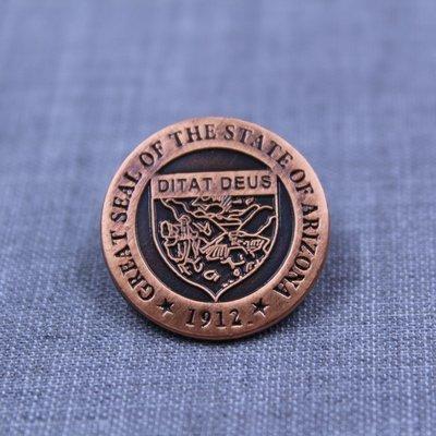 S/S Lapel Pin Copper