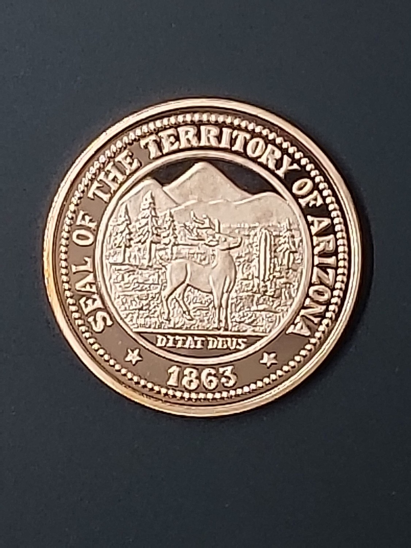 Territorial Seal Medallion