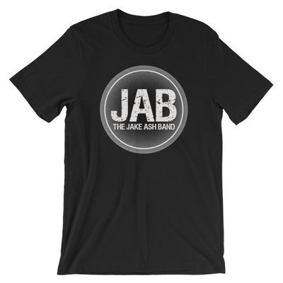 JAB Black Logo Short-Sleeve Unisex T-Shirt! Multiple Color Options!