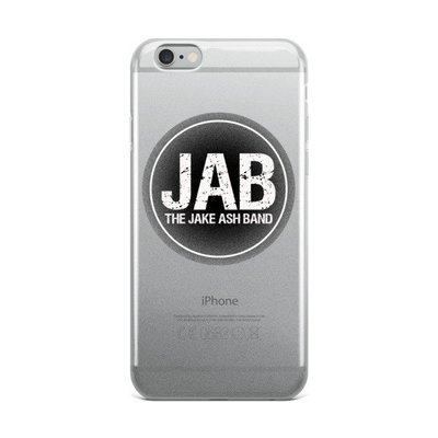 JAB Black Logo iPhone Case! All Sizes!
