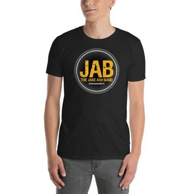 JAB Boston, MA B's Hockey Colored Logo Short-Sleeve Unisex T-Shirt