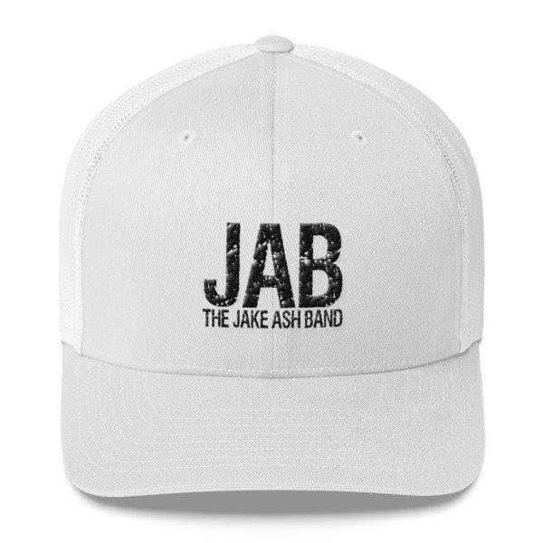 JAB White Trucker Hat!