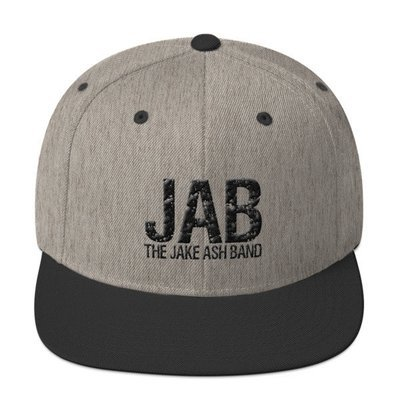 JAB Wool Blend Snapback Hat!