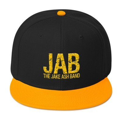JAB Black and Gold Snapback Hat!