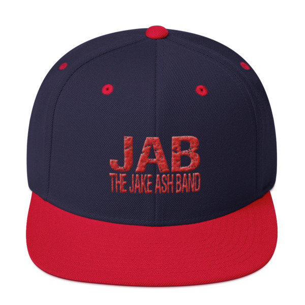 JAB Red and Navy Snapback Hat!