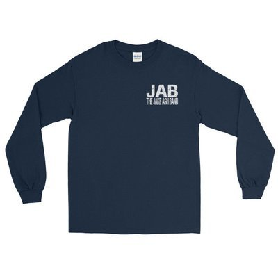 The Jake Ash Band Long Sleeve T (Multiple Color Choices)