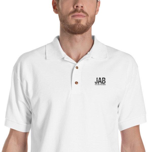 JAB Embroidered Polo Shirt!