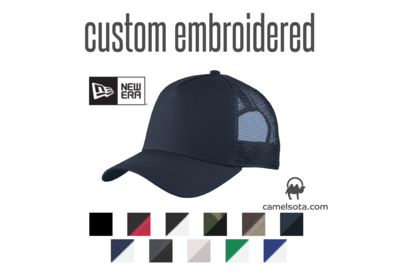 Custom Embroidered New Era® Snapback Trucker Cap