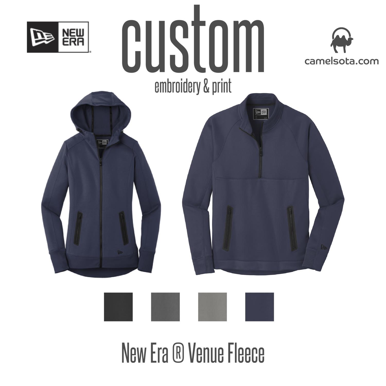 Customized New Era Venue Fleece Sweatshirts
