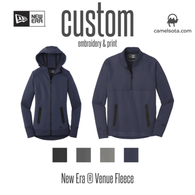 Customized New Era Venue Fleece Sweatshirts
