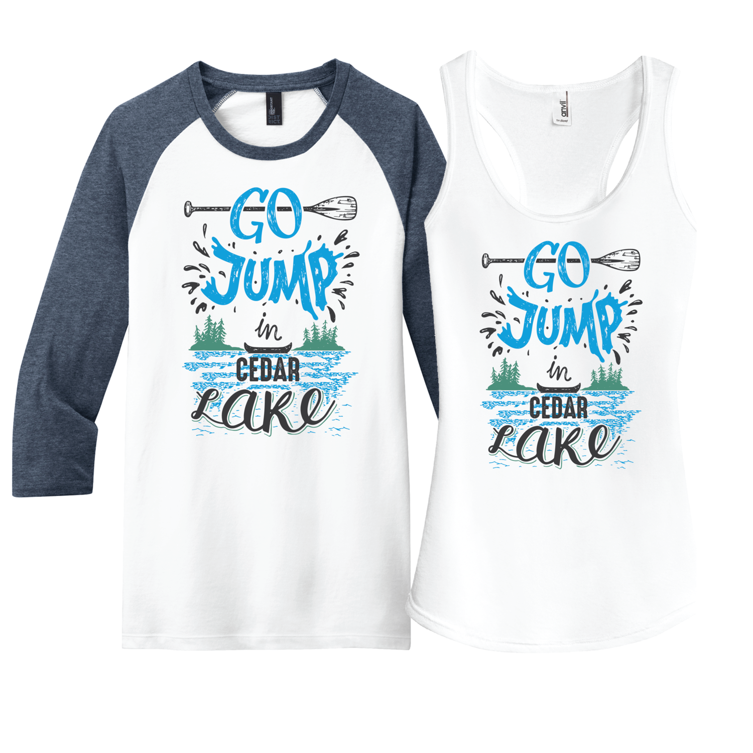 Go Jump in the Lake - customize it for your lake