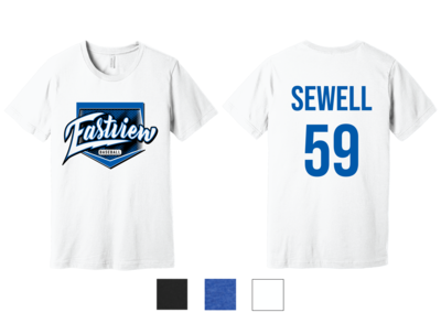Eastview Baseball Bella+Canvas® Unisex Blend Short Sleeve Tee