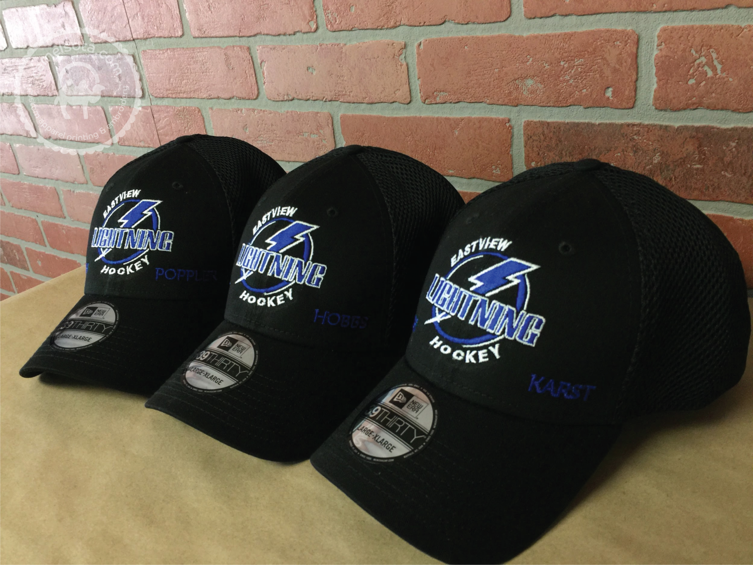 Custom Embroidered Eastview Hockey Hat