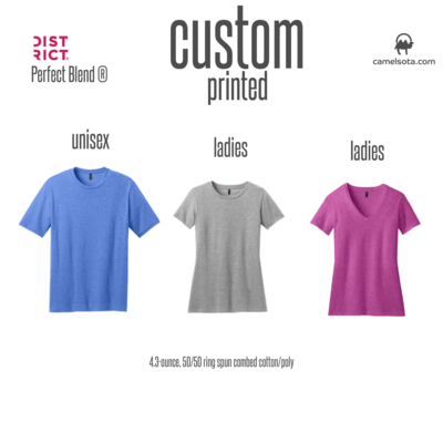 Custom District Perfect Blend T-Shirt