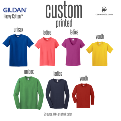 Custom Gildan 100% Cotton T-Shirt